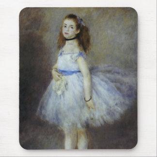 Ballet Dancer by Pierre Renoir, Vintage Fine Art Mouse Pad