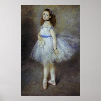 Ballet Dancer by Pierre Renoir, Vintage Fine Art Poster