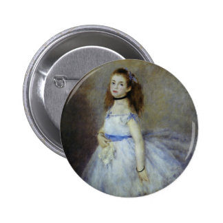Ballet Dancer by Renoir, Vintage Impressionism Art Button
