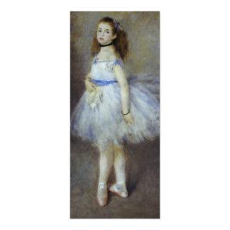 Ballet Dancer by Renoir, Vintage Impressionism Art Invite