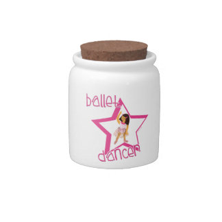 Ballet Dancer Candy Jars