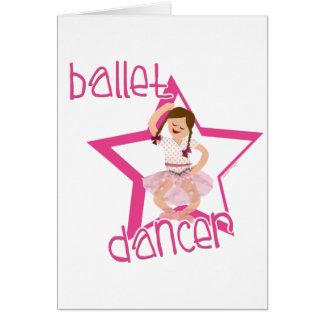 Ballet Dancer Card