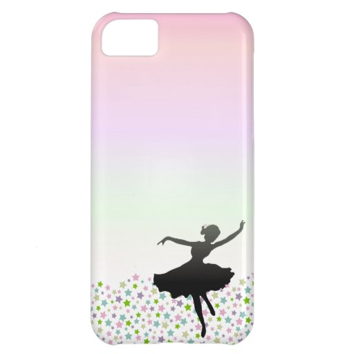 Ballet Dancer Dancing amongst the stars - sunset iPhone 5C Covers