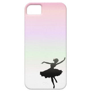 Ballet Dancer Dancing in pink lilac sunset iPhone 5 Cases