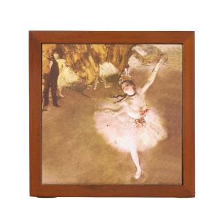 Ballet Dancer Degas Star Impressionist Painting Desk Organizer