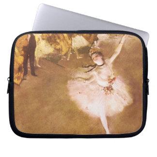 Ballet Dancer Degas Star Impressionist Painting Laptop Computer Sleeve