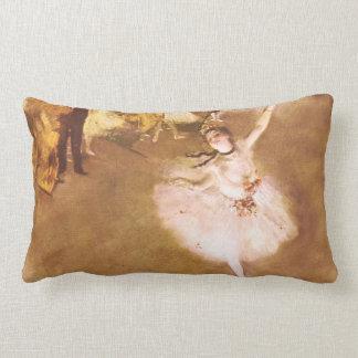 Ballet Dancer Degas Star Impressionist Painting Lumbar Pillow