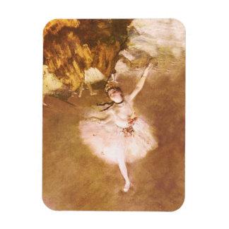 Ballet Dancer Degas Star Impressionist Painting Magnet