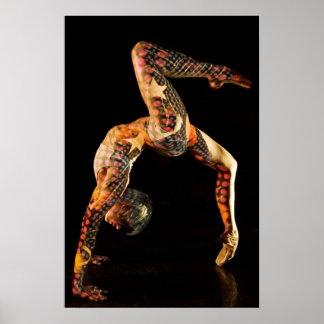 Ballet Dancer Delphine Print