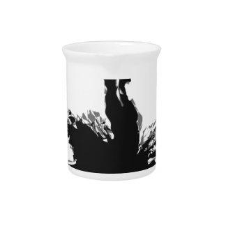 ballet-dancer drink pitcher