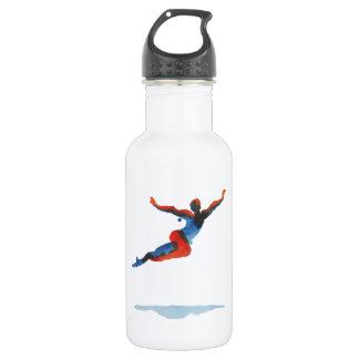Ballet Dancer Flying Stainless Steel Water Bottle