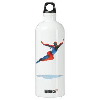 Ballet Dancer Flying Water Bottle