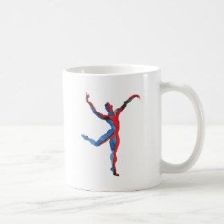 Ballet Dancer Gesturing Coffee Mug