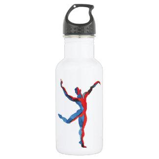 Ballet Dancer Gesturing Stainless Steel Water Bottle