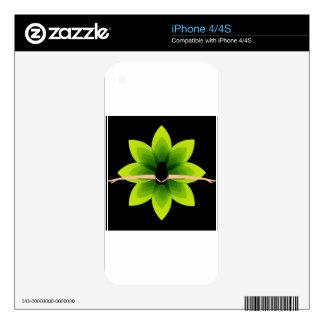 Ballet dancer iPhone 4 decal