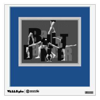 Ballet Dancer - Men Wall Sticker