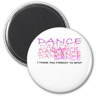 Ballet Dancer Merchandise Fridge Magnet