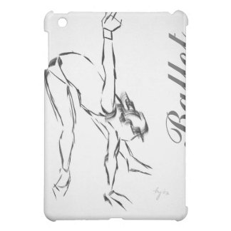 Ballet Dancer Painting iPad Mini Cover