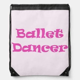Ballet Dancer Cinch Bag