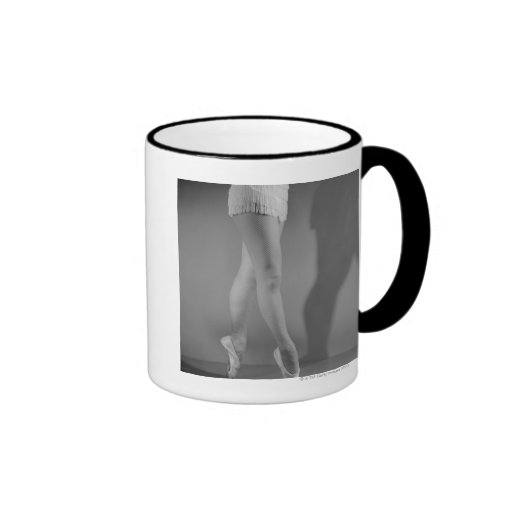 Ballet Dancer Ringer Mug