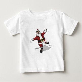 Ballet Dancer Santa Claus Baby T-Shirt