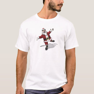Ballet Dancer Santa Claus T-Shirt