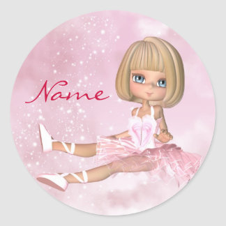 Ballet Dancer Stickers - Ballet Sticker