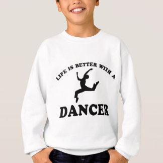 Ballet Dancer Vector Designs Sweatshirt