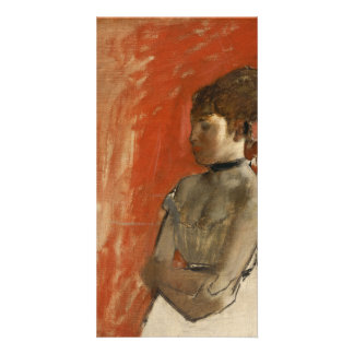 Ballet Dancer with Arms Crossed by Edgar Degas Card