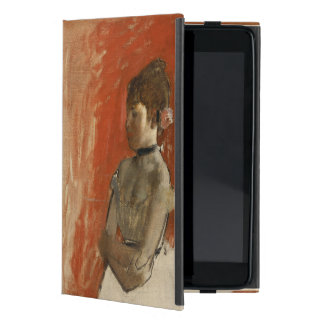 Ballet Dancer with Arms Crossed by Edgar Degas Cover For iPad Mini