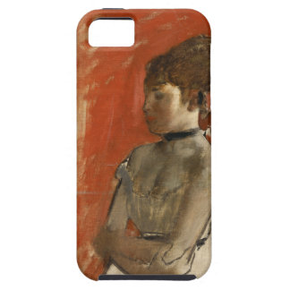 Ballet Dancer with Arms Crossed by Edgar Degas iPhone SE/5/5s Case