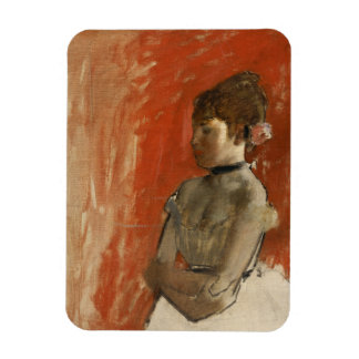 Ballet Dancer with Arms Crossed by Edgar Degas Magnet