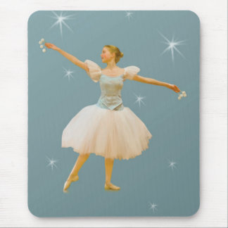 Ballet Dancer with Castanets Mouse Pad