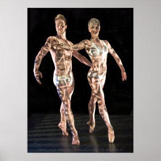 Ballet Dancers-4214XLG Poster