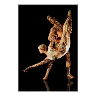 Ballet Dancers-4464XLG Posters