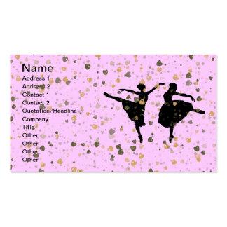 BALLET DANCERS BUSINESS CARD TEMPLATE