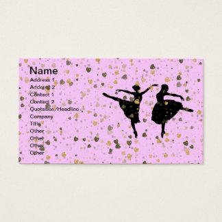 BALLET DANCERS BUSINESS CARD