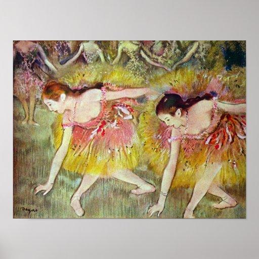 Ballet dancers by Edgar Degas Posters