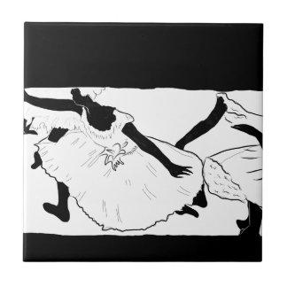 Ballet Dancers (Degas) Ceramic Tile