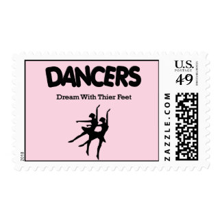 Ballet Dancers Dream with Their Feet Stamps