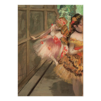 Ballet Dancers in Butterfly Costumes, Edgar Degas Poster