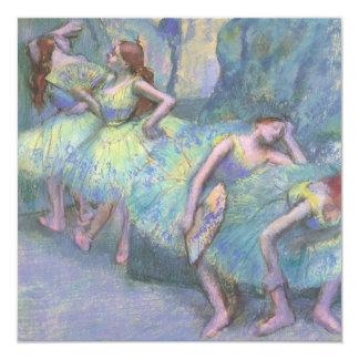 Ballet Dancers in the Wings by Edgar Degas Custom Announcements