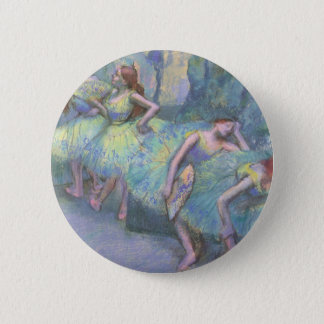 Ballet Dancers in the Wings by Edgar Degas Pinback Button