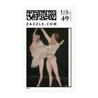 Ballet  Dancers Stamp