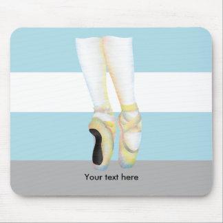 Ballet Dancers Shoes Mouse Pad