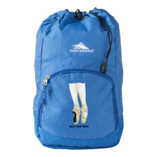 Ballet Dancers Shoes On Point High Sierra Backpack