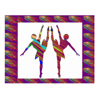 BALLET Dancers :  Very Artistic Dance Formations Post Cards