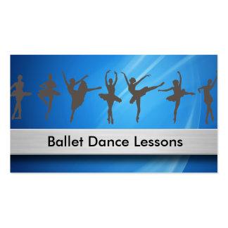 Ballet Dancing Business Cards Business Card Template