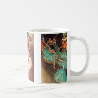 Ballet Dancing Girls by Edgar Degas Classic White Coffee Mug