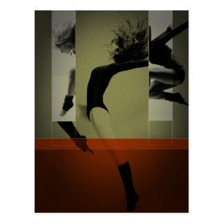 Ballet Dancing Postcard
